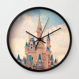Cinderella's Castle Wall Clock