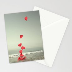 the love towards the sea Stationery Cards