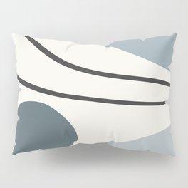 Seascapes I // Abstract Minimal Pillow Sham
