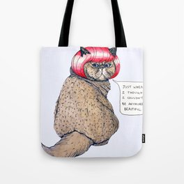 Cat Style Tote Bag
