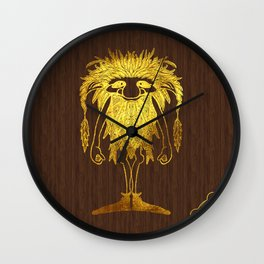 Ilvermorny Pukwudgie Wall Clock