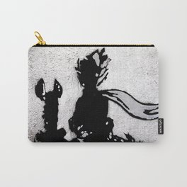 The little prince and the fox - stencil for the LIFE CURRENT WALL series Carry-All Pouch