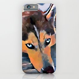 Husky 5 iPhone Case