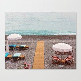 Cote D'azur - Nice, France Canvas Print