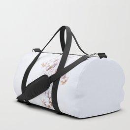 Snowy Hydrangea On A Snow Background #decor #society6 Duffle Bag