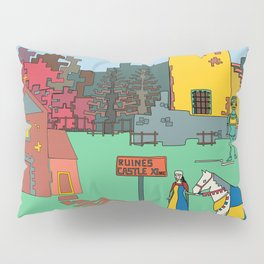 Afternoon at the Medieval Age Pillow Sham