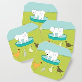 Great Pyrenees - My Pool! Coaster