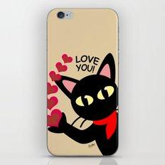 Love you! iPhone & iPod Skin