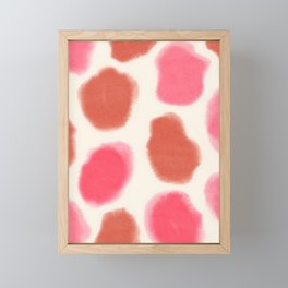 Pink Cheetah Framed Mini Art Print