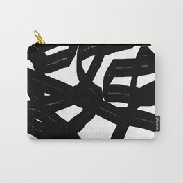 Black Brush Carry-All Pouch