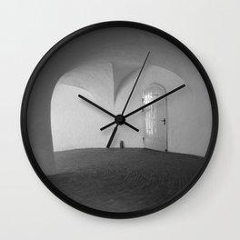 Copenhagen Round Tower 1 Wall Clock