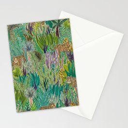 Jungle Tigers by Veronique de Jong Stationery Cards