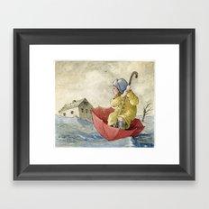 Waterproof Framed Art Print
