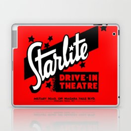 Starlite Drive In Red Laptop & iPad Skin