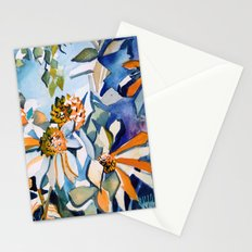 Carnival of Daisies Stationery Cards