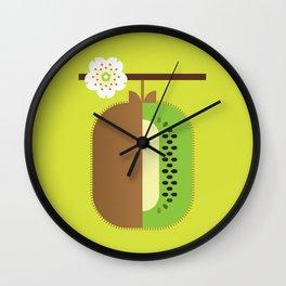 Fruit: Kiwifruit Wall Clock