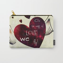 On the wings of LOVE Carry-All Pouch