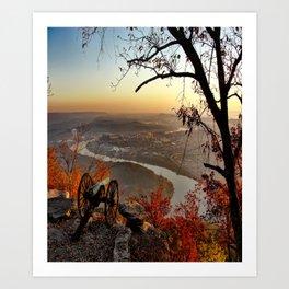Scenic City Chattanooga TN Art Print