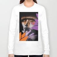 """karen Long Sleeve T-shirts featuring """"Karen O"""" by Samy Vincent"""