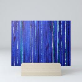 Aqua 1 Mini Art Print