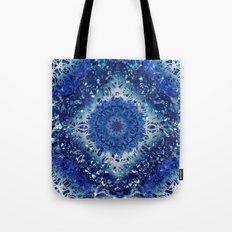 Diamond Pool Mandala Tote Bag