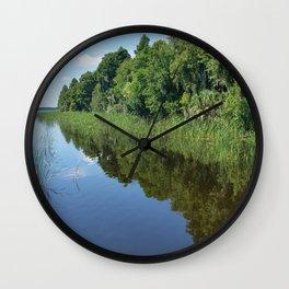 Circle Bar B 1 Wall Clock