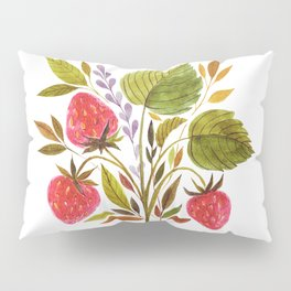 Early Summer Strawberries Are The Sweetest Pillow Sham