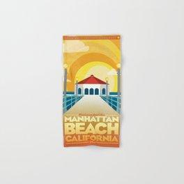 Manhattan Beach California Hand & Bath Towel