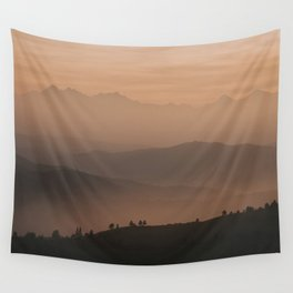 Mountain Love - Landscape and Nature Photography Wall Tapestry