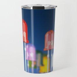 LED diodes Travel Mug