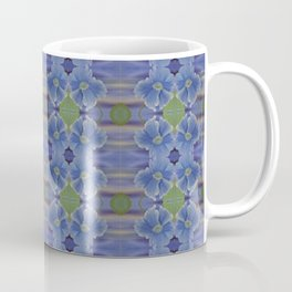 Nasturtium Flower Pattern Coffee Mug