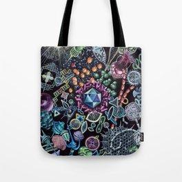 Marine Microorganims Tote Bag