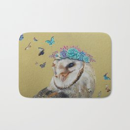 The Butterfly Effect Barn Owl Bath Mat