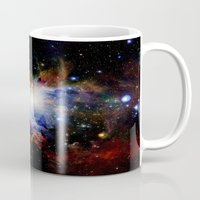 nebula Mugs featuring Orion NebulA Colorful Full Image by 2sweet4words Designs