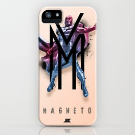 Heroes and Villains Series 2: Magneto iPhone Case