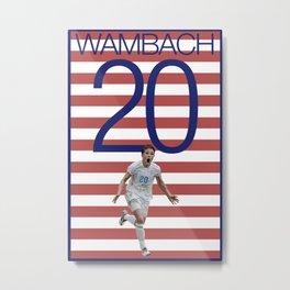 Abby Wambach 20 USWNT Metal Print