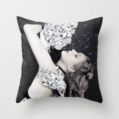 Diamonds are a girl's best friend Throw Pillow