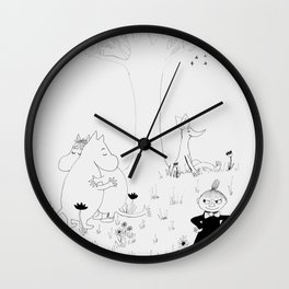 Moomin Love Wall Clock