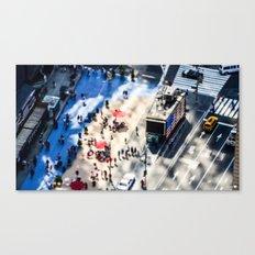 NYC - Miniature Street Canvas Print
