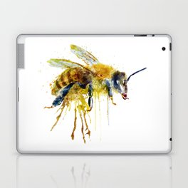 Watercolor Bee Laptop & iPad Skin