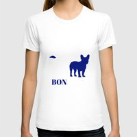 bonjour T-shirts featuring Bonjour by Laura Maria Designs