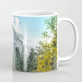 Yosemite's Half Dome After a Snowfall Coffee Mug