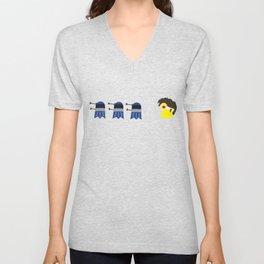Doctor Pacman Unisex V-Neck