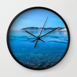 The Angara river Wall Clock