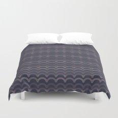 Purple Circles Duvet Cover