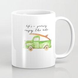 Green Truck Coffee Mug
