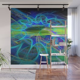 Wormhole Effect Wall Mural