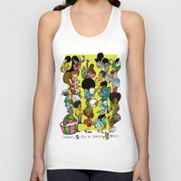 rio Tank Tops featuring CARNAVAL RIO by Valter Brum