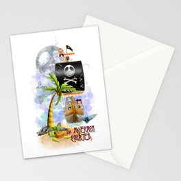 The Moeraki Pirates Stationery Cards
