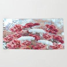 Summer bouquet - #Society6 #buyart Beach Towel